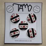 23mm/36L fabric covered buttons