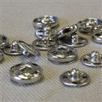 10mm brass snap fastener, sew on