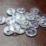 18L - 11.5mm clear backing button