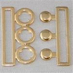 50mm nurse belt buckle – gold