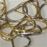 22mm metal D ring