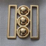 38mm nurse belt buckle – gold
