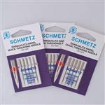 Schmetz Quick Threading Sewing Machine Needle