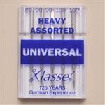 Klasse sewing machine needles - universal heavy assorted